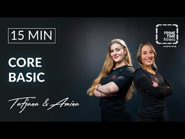 Core Basic mit Tatjana & Amina - Sixpack Training - Rumpf Stabilisation