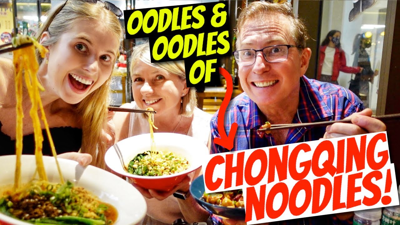 You haven't LIVED until you've tried Chongqing noodles! 重庆小面
