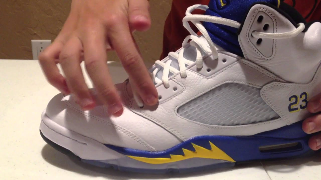 11603ce00559 air jordan 5 v laney unboxing and on feet review youtube