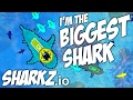 Sharkz.io - I'm the BIGGEST SHARK! | Let's Play Sharkz.io Gameplay