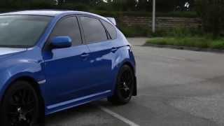 my 2014 subaru wrx world rally blue hatchback