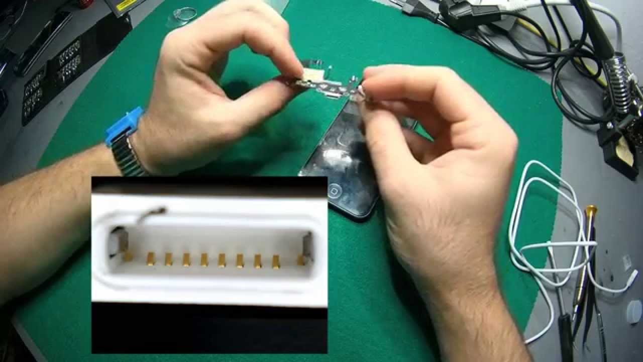 22d13953747 ✅Iphone 5 No carga cambio de conector (REPARACIÓN) // Tutorial - YouTube