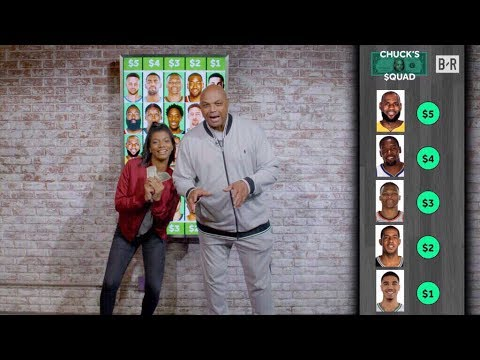 We Gave Charles Barkley $15 To Build His Dream NBA Squad