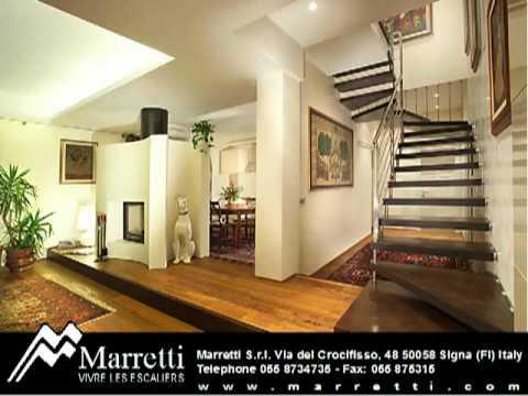 Escaliers d'Intérieur Marretti - YouTube