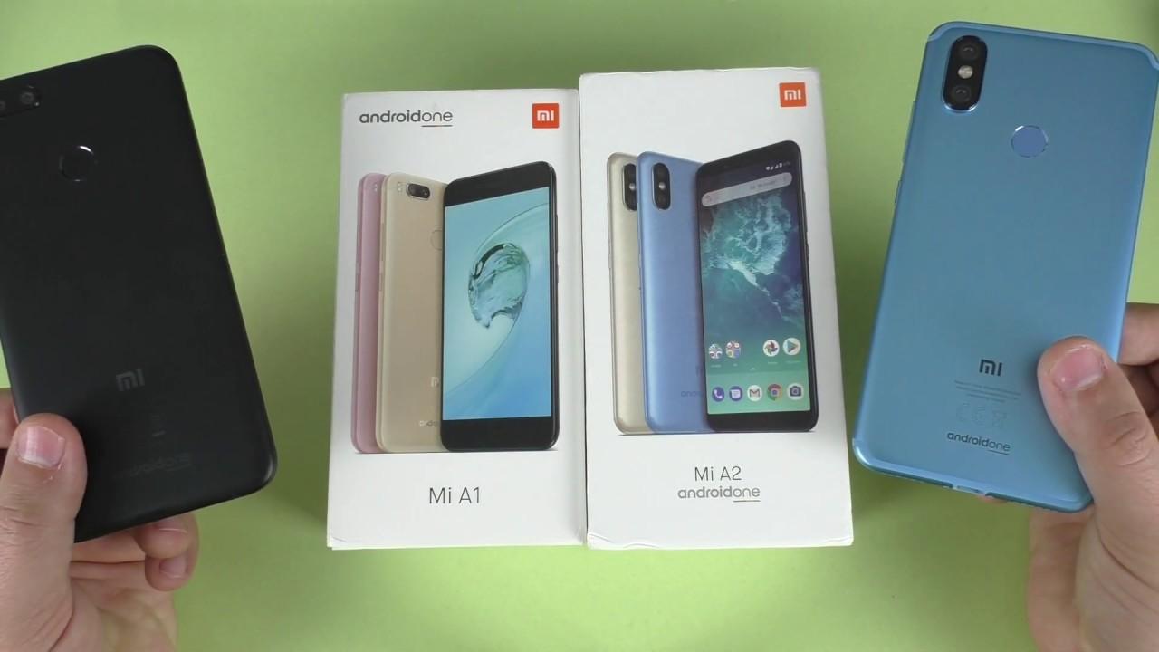 СРАВНЕНИЕ Xiaomi Mi A2 vs Mi A1 ► ЧИСТЫЙ Android One лучше MiUi от СЯОМИ!