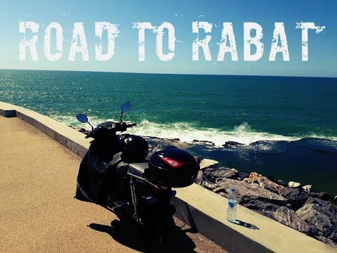 """Trip in morocco by C100 """"Fes To Casablanca"""" part4 : Road To RABAT"""