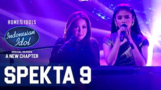 Download RIMAR X MAIA - SANG PENGGODA (Maia ft. Tata Janeeta) - SPEKTA SHOW TOP 5 - Indonesian Idol 2021