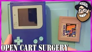 Open Cart Surgery - Motocross Maniacs for Game Boy