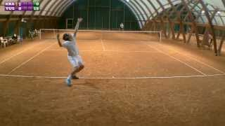 Christophe (Yusuke118 5/6) vs Xavier (Kramer 3/6) - Match amical - 07/08/2013