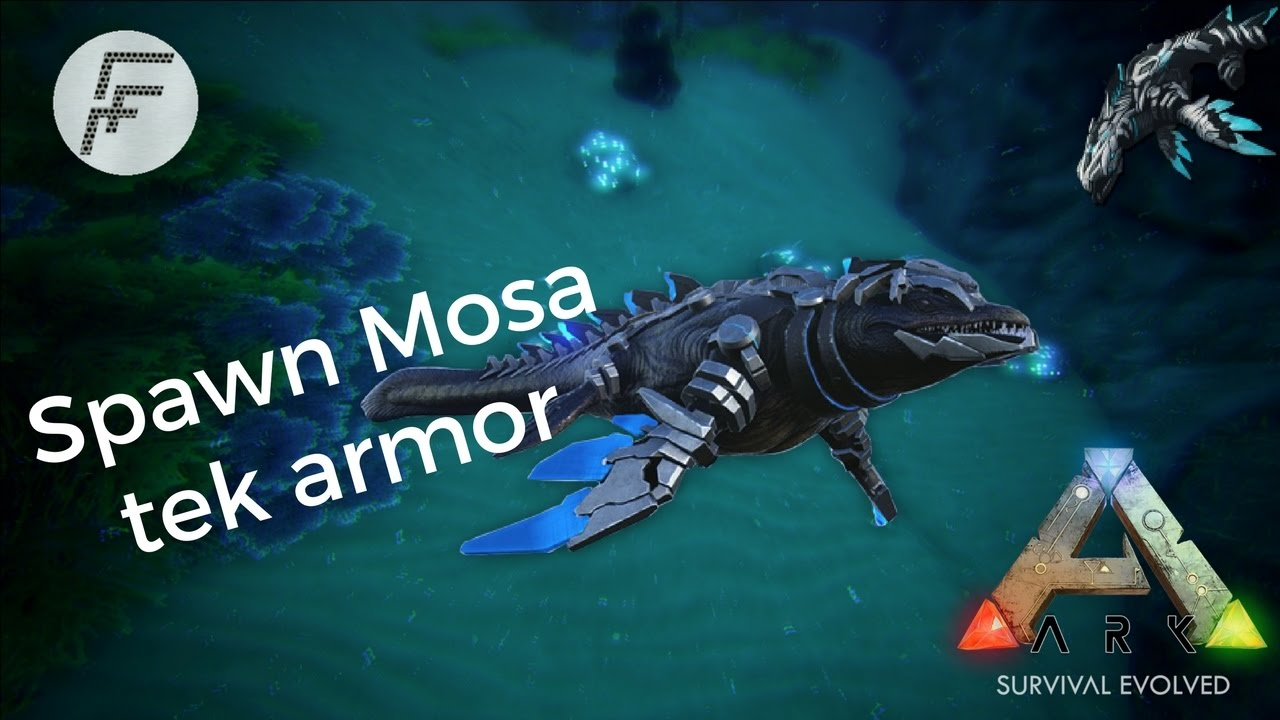 Ark survival evolved how to spawn a mosasaur tek saddle youtube ark survival evolved how to spawn a mosasaur tek saddle malvernweather Gallery