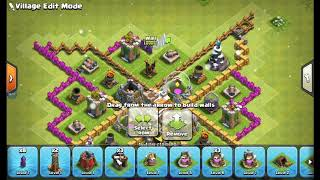 Th 7 mega troll base with my new founded clan