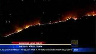 News 8 Fire Footage
