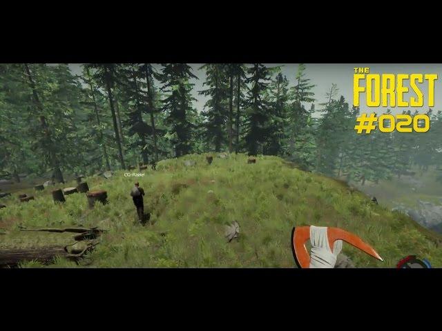 Let's Play The Forest | Jetzt jagen wir Eingebohrene | Folge #020