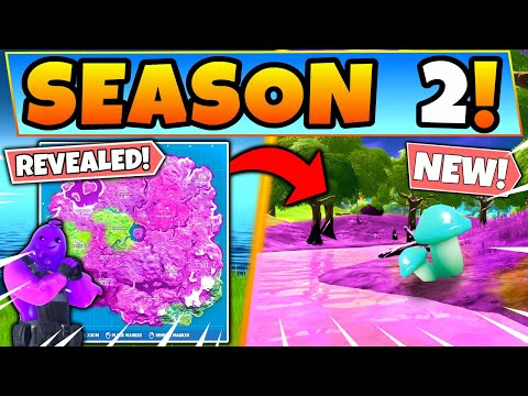 Fortnite SEASON 2 CHAPTER 2 INFO REVEALED! THEME, MAP CHANGES, And More! (Battle Royale Update)