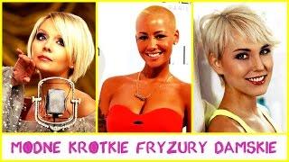 Modne krótkie fryzury damskie
