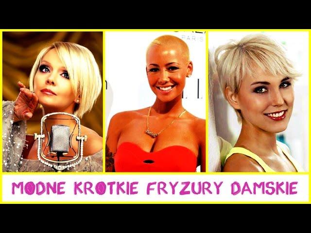 Modne Krótkie Fryzury Damskie Clipfailcom