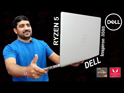 Dell Inspiron 3505 RYZEN 5 FHD Display Laptop   BEST LAPTOP UNDER RS-50000   Unboxing & Review