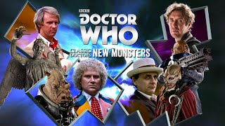Doctor Who: Classic Doctors New Monsters