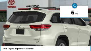 2019 Toyota Highlander Limited Maplewood, St Paul, Minneapolis, Brooklyn Park, MN K14211