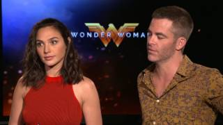 Interview with Gal Gadot and Chris Pine of Wonder Woman