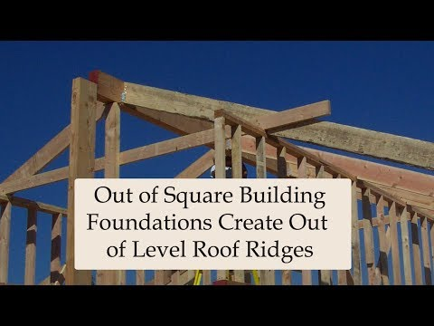 Roof Framing Problems Created By Wacky Walls - Home Building Tips