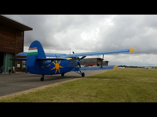 GenAIRation Antonov Vol à bord de l'Antonov AN2