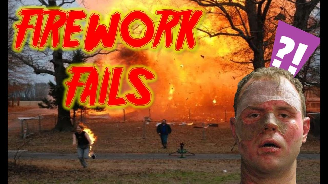 FIREWORK FAILS - Don't try this at home compilation