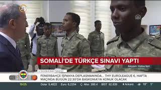 Milli Savunma Bakanı Akar, Somalili askerlere Türkçe sınavı yaptı