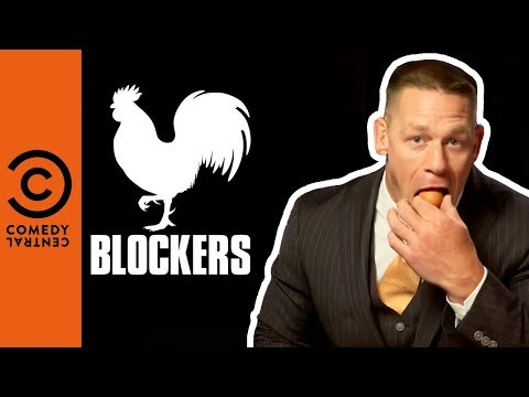 Can John Cena fit a WHOLE EGG in his mouth? | Comedy Central Movies