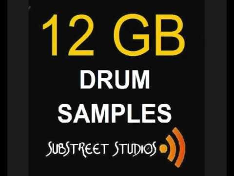 Substreet Studios presents the Drums Beats & Loops Sample Pack mp3