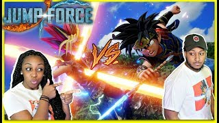 IT'S ON!!! | JazzyGuns VS Dwayne Kyng Jump Force Gameplay!!!