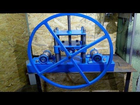 Homemade Roller Bender (dimensions) / Giętarka samoróbka(wymiary)