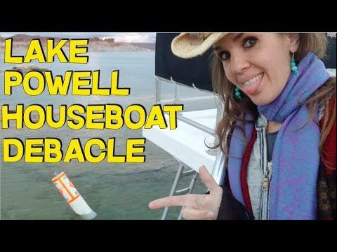 Lake Powell Houseboating Debacle