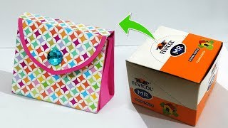 Very Easy DIY Paper Purse from Best Out Of Waste | Recycled Handmade Paper Bag