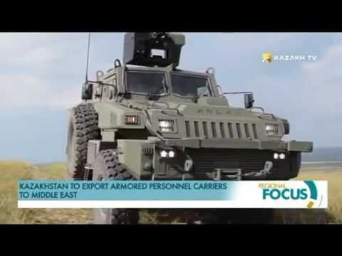 Kazakh TV Kazakhstan to export armored personnel carriers to Middle East