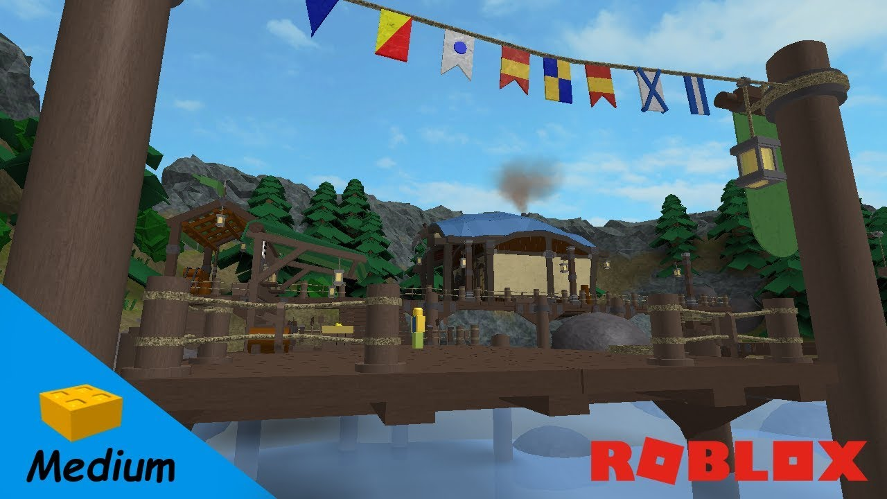 Roblox Studio Speed Build Tiragarde Smugglers Harbor World Of