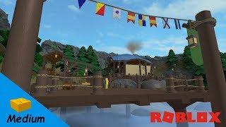 ROBLOX STUDIO SPEED BUILD / Port de passeurs de Tiragarde / World of Warcraft