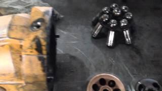 Ремонт гідромотора Rexroth Hydromatik A6VM107