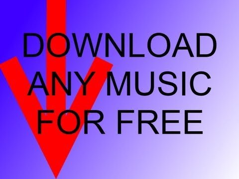 How to get ANY music for free in HQ! LEGAL!!