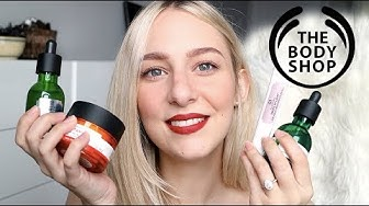 THE BEST of THE BODY SHOP - top 10 products