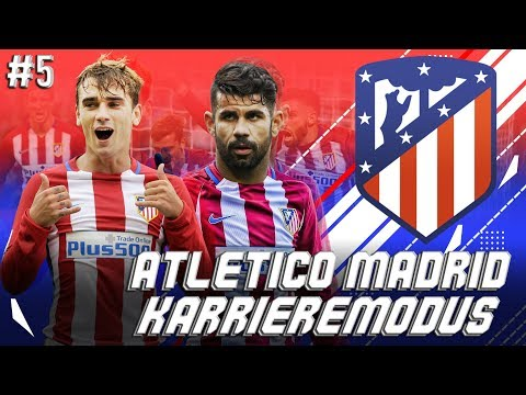FIFA 18: DERBY gegen REAL MADRID!!! BITTERE NIEDERLAGE??!! ATLETICO MADRID KARRIEREMODUS#5
