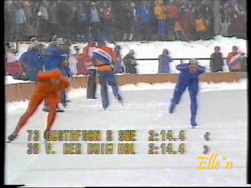 Olympic Winter Games Sarajevo 1984 - 5 km Gustafson - Van der Duim