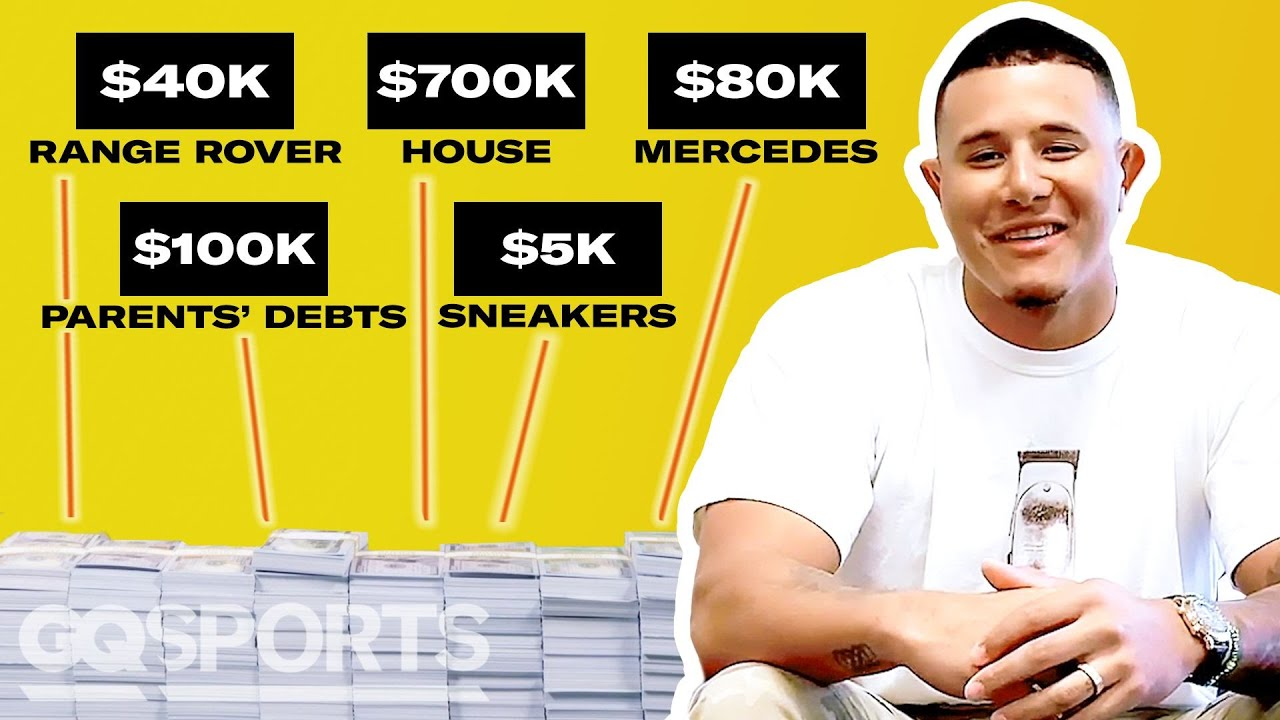 How Manny Machado Spent His First $1M in MLB | My First Million | GQ Sports