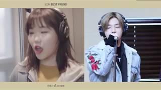 │iKON (아이콘) - BEST FRIEND│Ver. AKMU SUHYUN ft iKON JINHWAN FMV