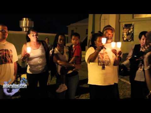 Mona Li$a At Vigil In Memory Of Kenwandee Wheels Robinson Bermuda May 22 2011