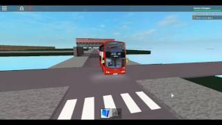 Roblox London Hackney & Limehouse bus Simulator First New Year Still Use Wright Pulsar DAF Route 254