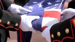 "Ann M. Wolf,  ""Flag- Folding Ceremony"" - Meaning of each fold"