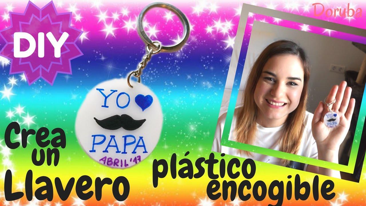 Como Hacer Un Llavero Con Plástico Encogible Diy Manualidad Regalo Original Doruba