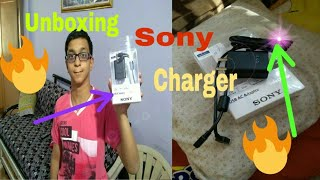 Unboxing Sony Charger🔥🔥🔥By Chaitanya | Charges any smartphone  rapidly | Heat resistance charger
