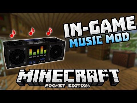 how to change minecraft background music